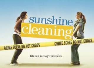 Sunshine Cleaning -  a more realistic life view coming from the film industry.