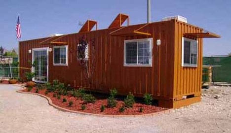 cheap shipping container house