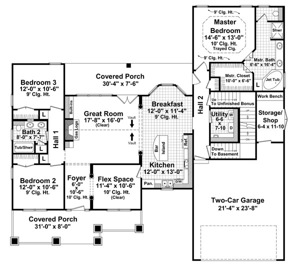 The Lexingtons Floor Plan - 1800 + sq. ft.
