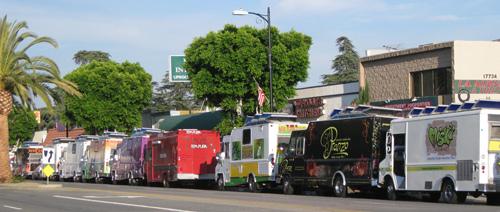 Gourmet Food Trucks, Granada Hills, CA