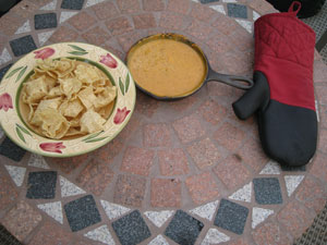 Queso on the Grill