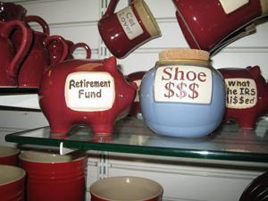Retirement Fund vs. Shoe Money Fund