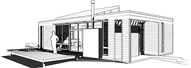 Energy Efficient House Plans Little House in the Valley