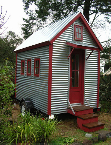 Tiny Portable Tumbleweed House
