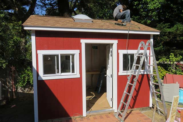 cabin or a Shed on Quick Installation