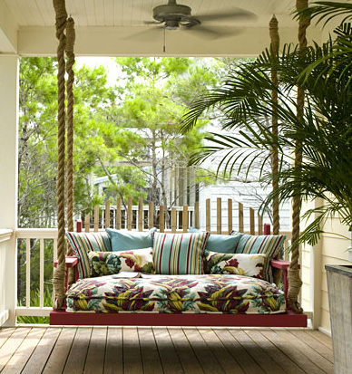 Porch swing from Houzz.com
