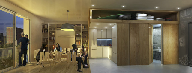 Micro-Unit Apartments in New York