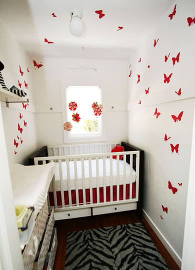 Closet Nursery from Apartment Therapy
