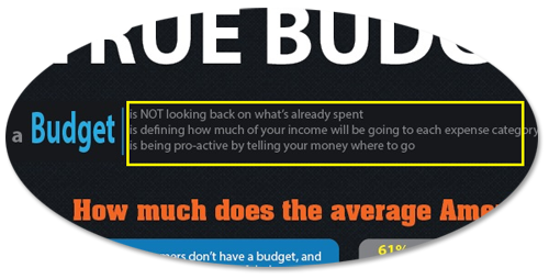 Budgeting Facts