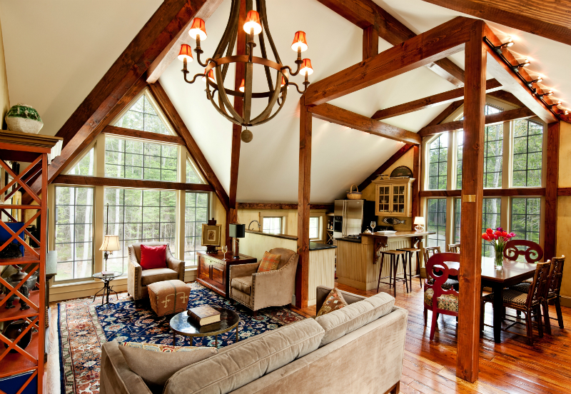 Interior Yankee Barn Home - Bennington model