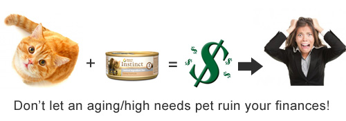 Aging Pets Cost Money