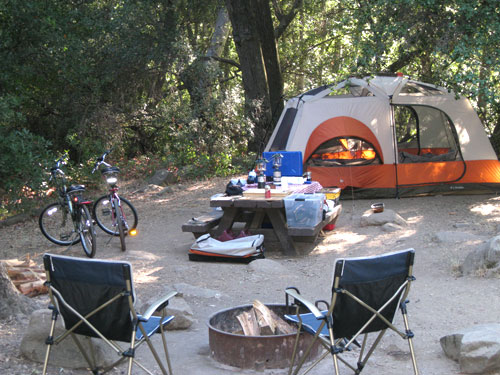 When Camping Turns into GLAMping