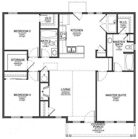 Floor Plan or Square Feet Which is better Little House in the Valley