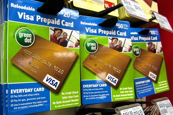Pre-Paid credit cards (NOT the same as secured credit cards!)