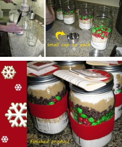 Mason Jar Gifts from Little House in the Valley