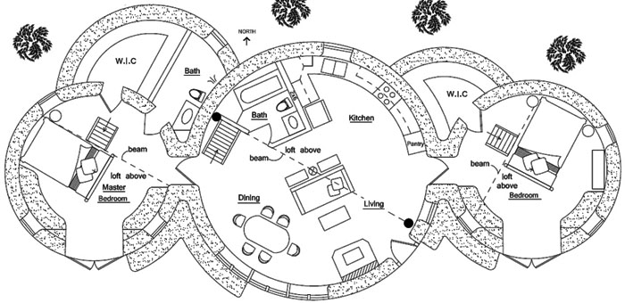 I love some of these floor plans. They just flow so nicely.
