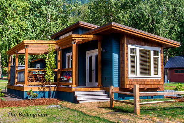 Not your average residential park model little house in for Custom modular homes washington