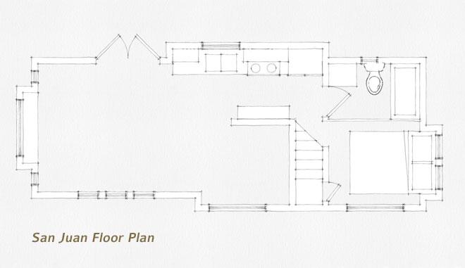 West Coast Homes, San Juan floorplan