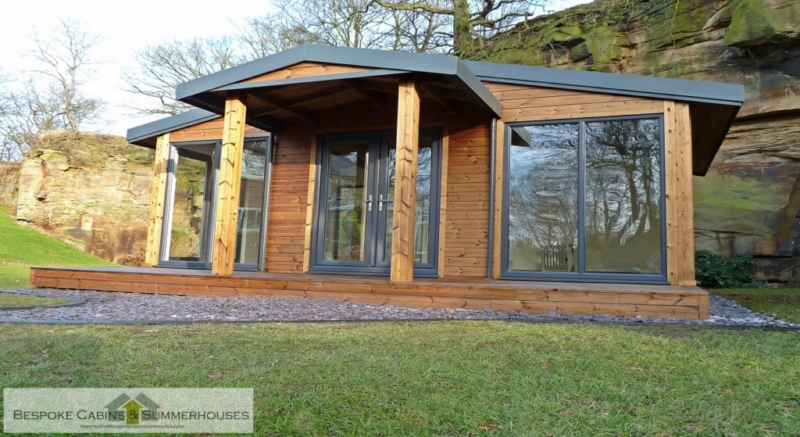 Bespoke cabin and summer houses out of England
