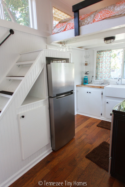 """Large"" kitchen for a tiny house."