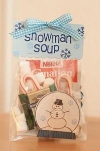 Snowman soup - a.k.a. hot cocoa