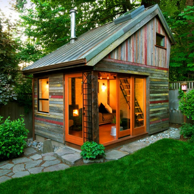 Design Tips for a Small(ish) Man Cave | Little House in ... on Man Cave Patio Ideas id=98323
