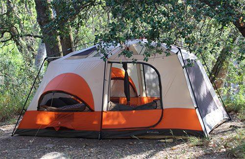 Big, heavy tent