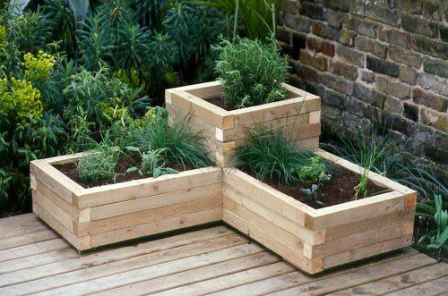 woodenplanters