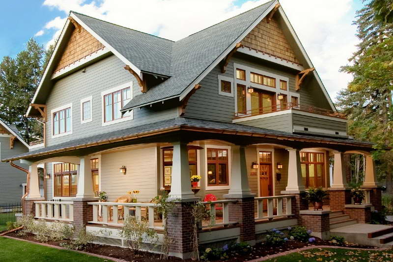The details that make a craftsman home little house in for Craftsman style homes for sale near me