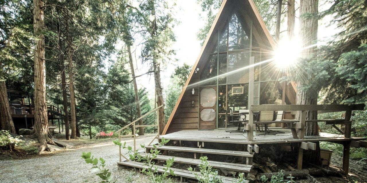 Adorable A-Frame Cabin