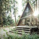 Adorable A-Frame Cabin