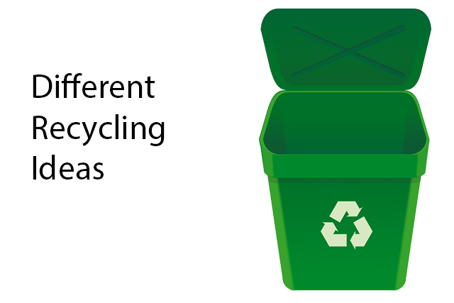 different recycling ideas at home