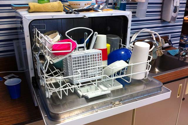Wrong Items In the Dishwasher