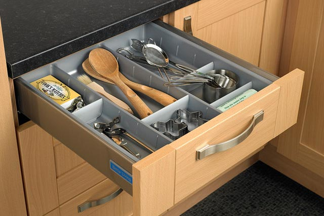 Drawers Using Dividers