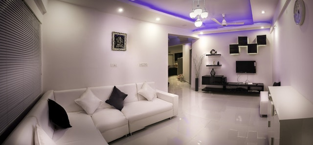 light color living room