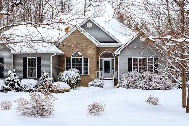 winter proof house