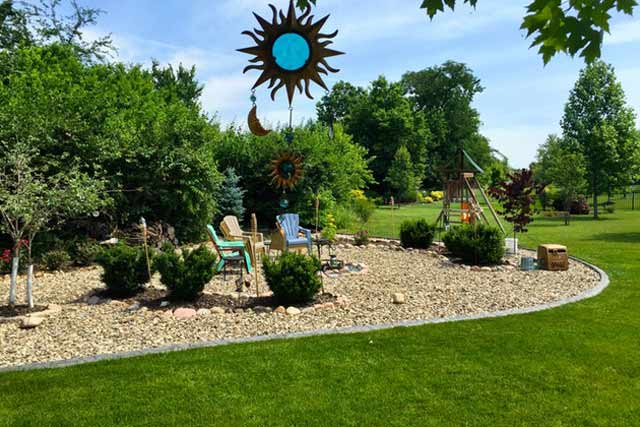 affordable landscaping of home