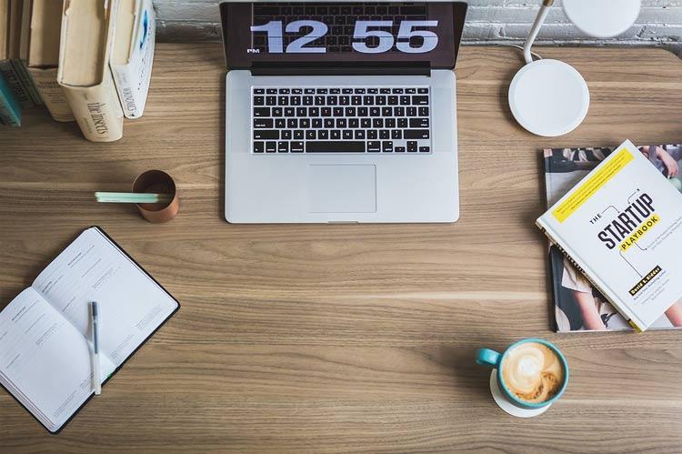 small modern desk