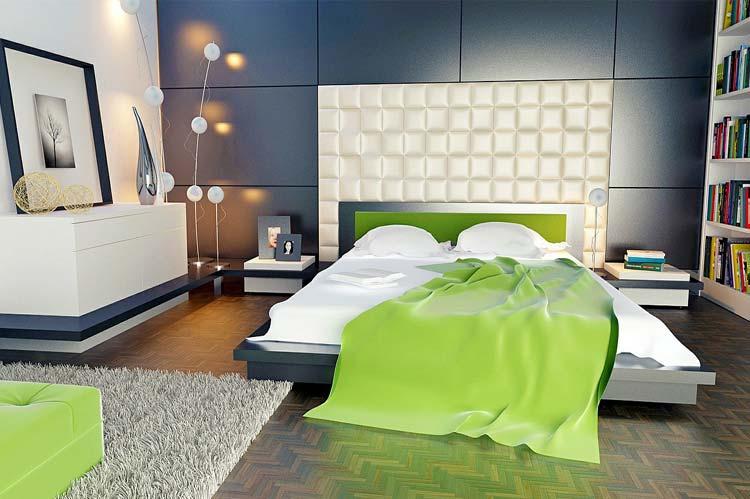bedroom wall theme